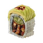 Avocado Caterpillar Roll