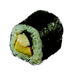 Hoso Avocado Maki